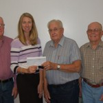 Senior Center donates to Henderson Health Care