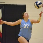Volleyball: Slow Start Spurs Huskies to Victory over Hawks [PHOTOS]
