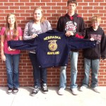 Heartland FFA Freshman Awarded New FFA Jacket
