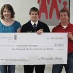 Heartland FFA Receives Award from Monsanto [PHOTO]