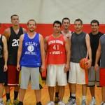 Champions Left to Right: Kris Hiebner, Jonny Mierau, Kyle Janzen, Chad Buller, Chris Buller, Ty Huebert, Blake Vancura and Jeff Gloystein.
