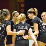 Volleyball: Heartland Sweeps Harvard on the Road [STATS] [PHOTO]