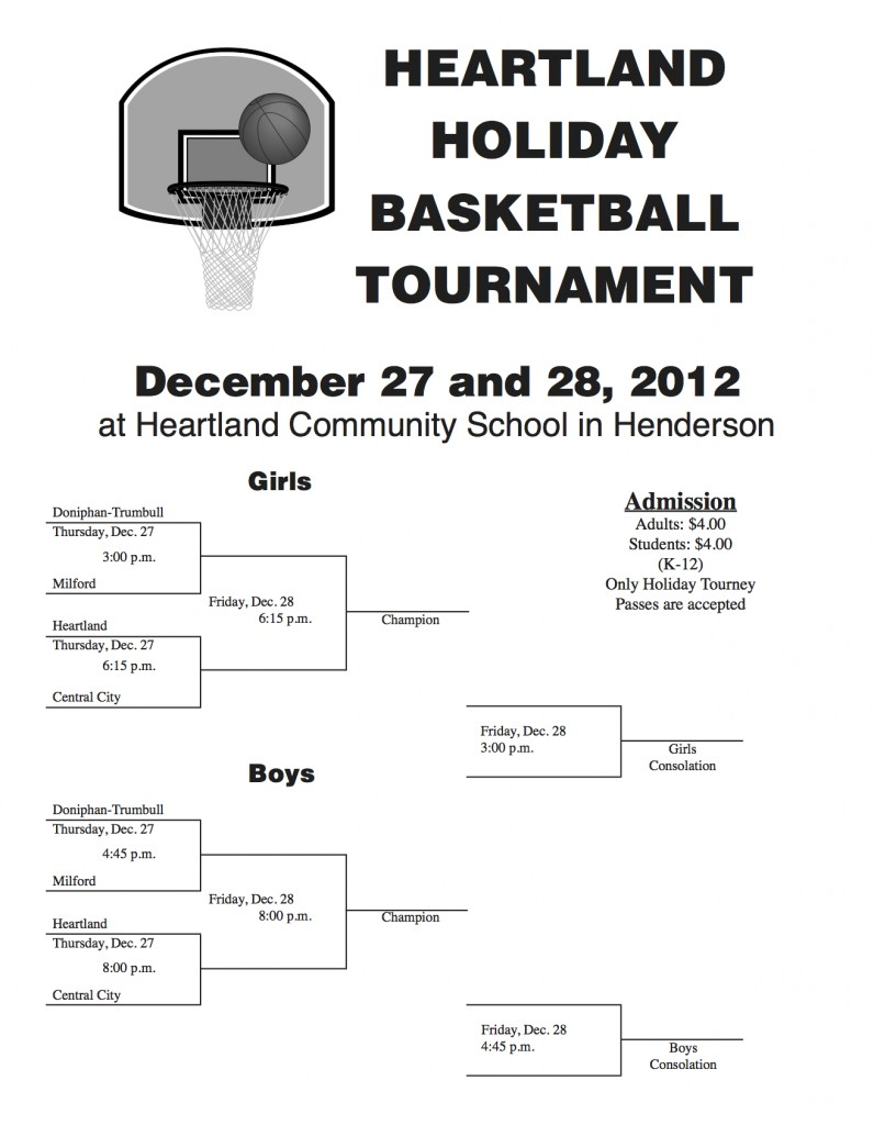 Holiday Tournament Bracket 12-13