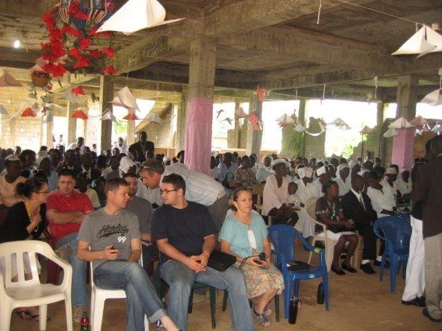 Church service at Pilote