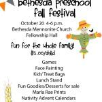 Fall Festival at Bethesda