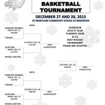 Holiday Basketball Tournament 2013 Schedule
