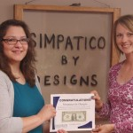 First Dollar of Profit for Simpatico by Designs [PHOTO]