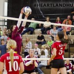 Volleyball: Heartland Quickly Defeated Harvard [STATS] [PHOTOS]
