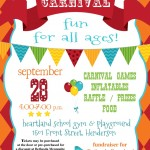 REMINDER: Fun for All Ages at the Back to School Carnival Sept. 28