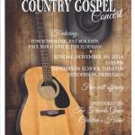 Country Gospel Concert [POSTER]