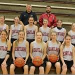 Heartland Jr. High Girls Basketball 2014 [PHOTO]
