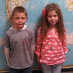 Elementary Students of the Month - March 2015