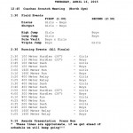 Track: Jr. High Invitational [SCHEDULE]